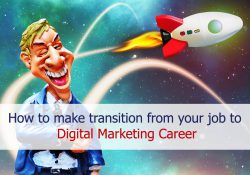 transition from traditional job to digital marketing career