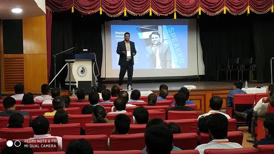 Shashank Srivastava in Kolkata DMconference