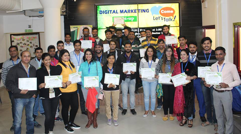 PIMS Digital Marketing Course Institute Certificate distribution Day