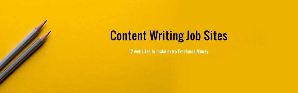 content writing jobs sites